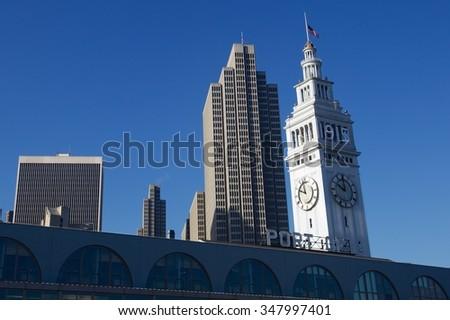 Financial District, San Francisco - stock photo
