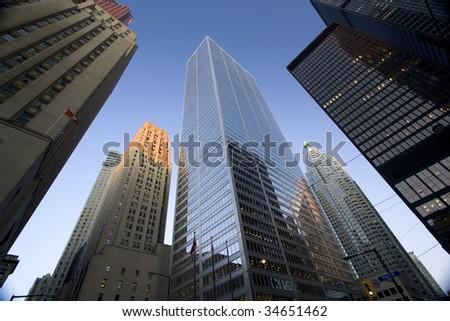 Financial District, Toronto, Canada - stock photo