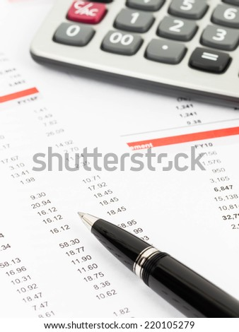 Financial or investment report analysis