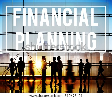 Financial Planning Accounting Investment Estate Concept - stock photo