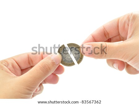 Financial recession - stock photo