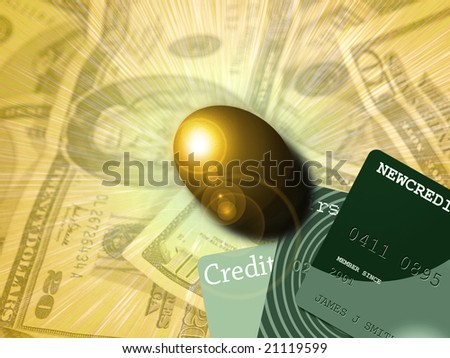 Financial Security - stock photo