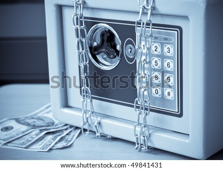 Financial Security ( Abstract ) - stock photo