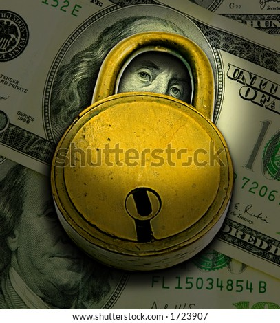 Financial Security Concept