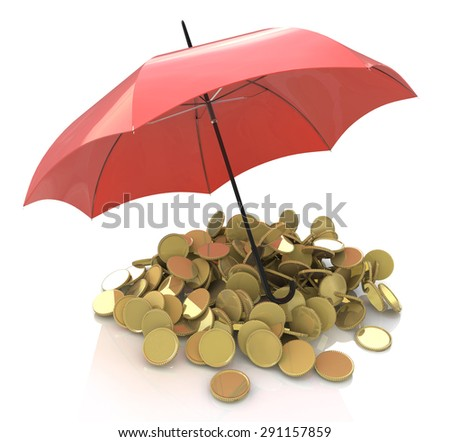 Financial stability, business success and insurance concept  - stock photo