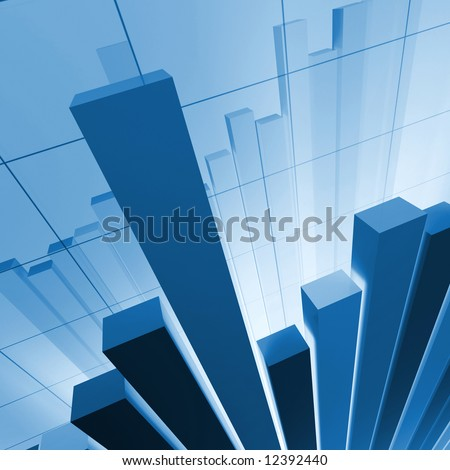 financial stat background - stock photo