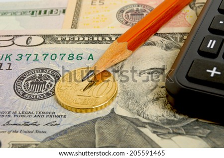 Financial success by following a successful financial strategy. - stock photo