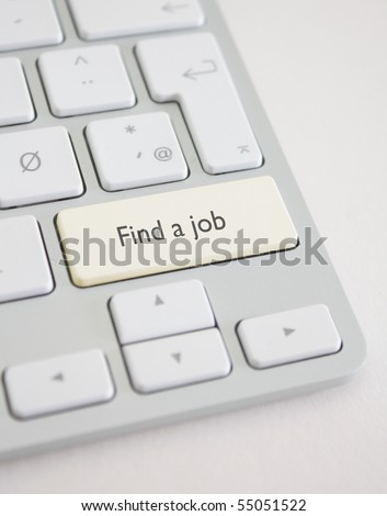 Find a job - stock photo