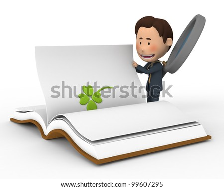 Find a man who(1) - stock photo
