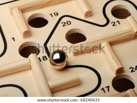 Find the right way. - stock photo