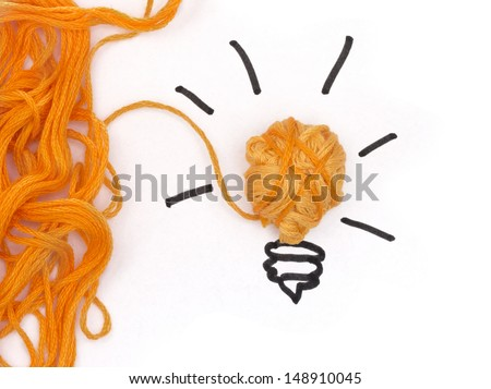 Finding a solution, IDEA concept - stock photo
