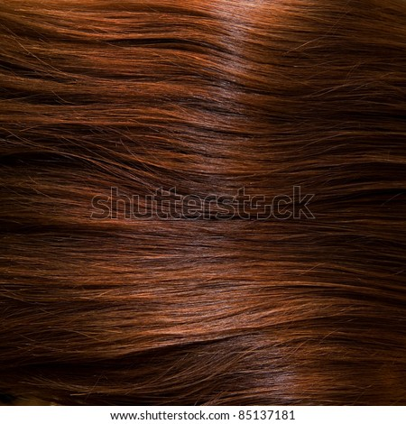 Fine brown hair, as a background - stock photo