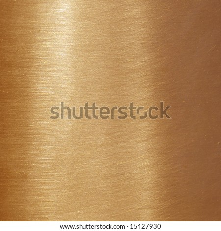 Fine brushed copper texture - stock photo