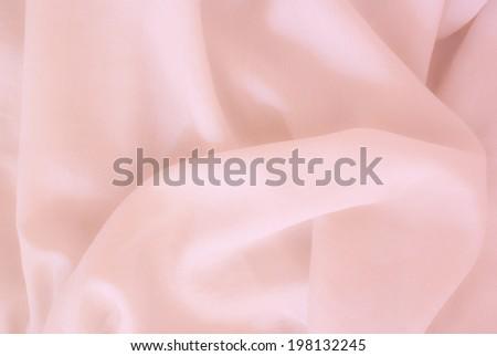 fine colored silk - stock photo