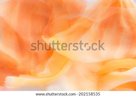 fine colored silk - stock photo