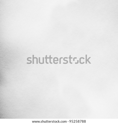 fine fiber white paper background, plenty of copy space for your text, isolated on white - stock photo