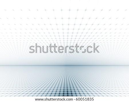 Fine geometric grid - stock photo