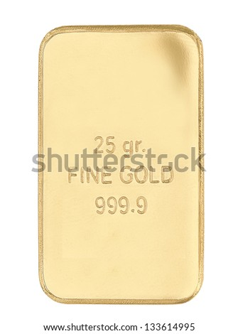 fine gold - stock photo