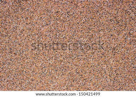 Fine grain background, shot of pastel colored stones. - stock photo
