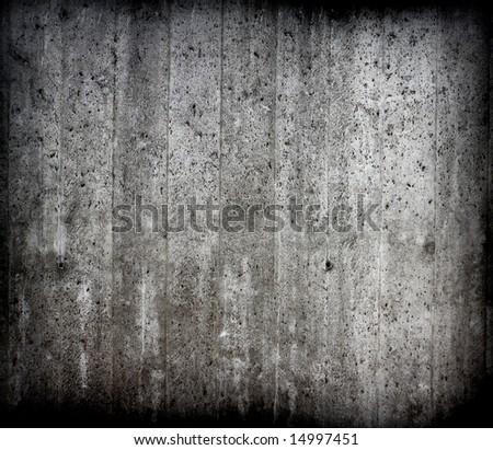 fine grunge concrete wall texture - stock photo
