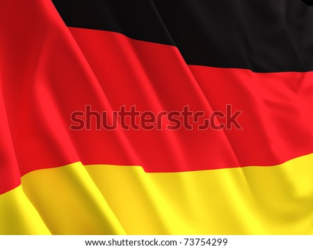 fine image 3d of german flag background