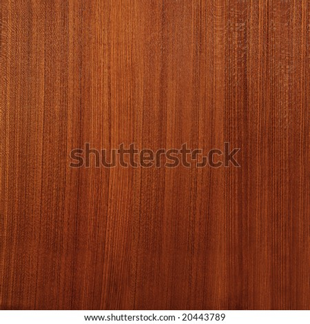 fine polished wooden texture - stock photo