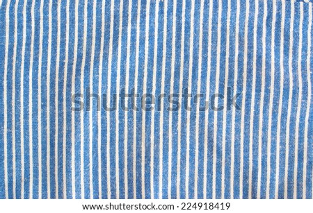 fine striped linen textile - stock photo