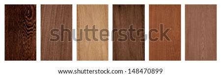 fine wood texture samples - stock photo