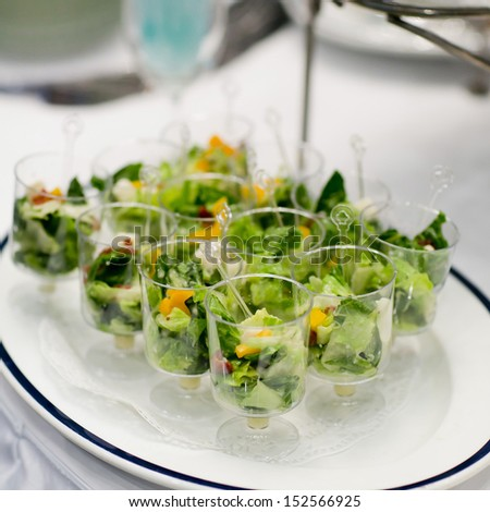 Finger food - stock photo