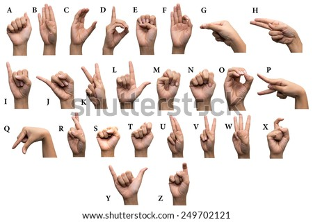 Sign Language Stock Images, Royalty-Free Images & Vectors ...