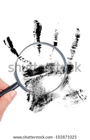 Fingerprint - stock photo