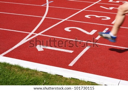 finish - stock photo