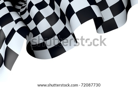 finish flag - stock photo