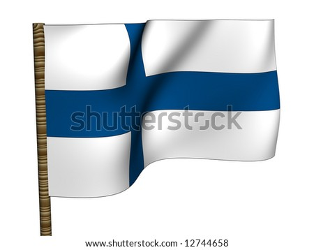 Finland. National Flag