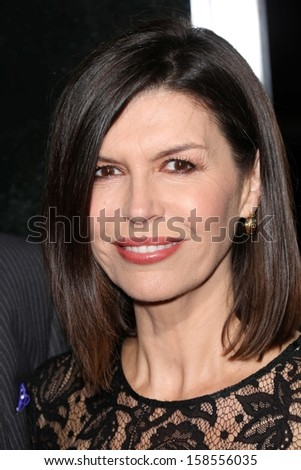 "Finola Hughes at the ""Captain Phillips"" Premiere, Academy of Motion Picture Arts and Sciences, Beverly Hills, CA 09-30-13"