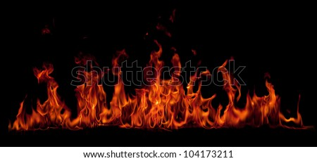 Fire - stock photo