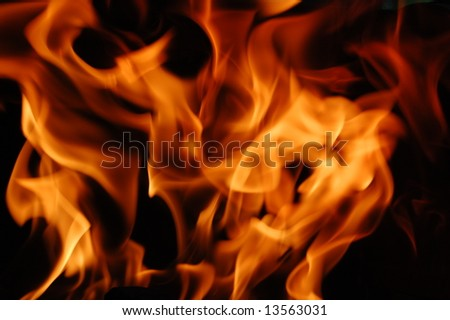 fire 3 - stock photo