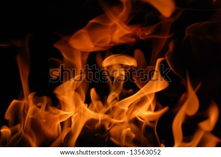 Fire 9 - stock photo