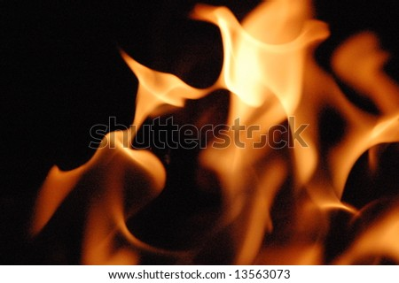 Fire 13 - stock photo