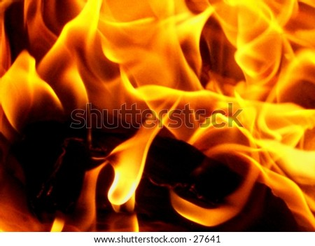 fire-1 - stock photo