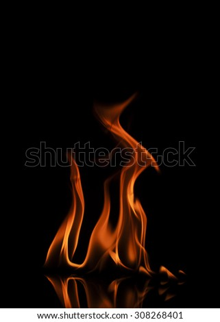 Fire abstract background texture
