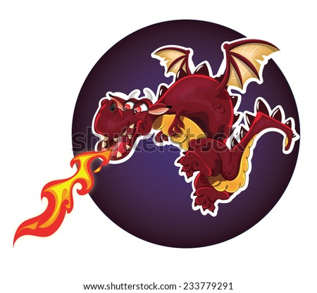 Fire Breathing Dragon.