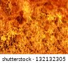 Fire Burning - stock