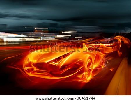 Fuego-carro Fotos, imágenes y retratos en stock   Shutterstock