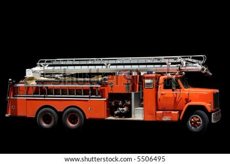 Fire Engine - stock photo