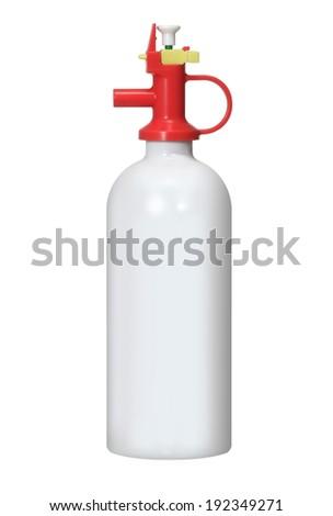 fire extinguisher - stock photo