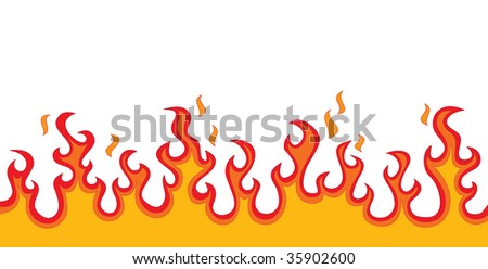 Fire Flames (in the gallery also available vector version of this image)