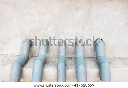 Fire hose connectors - stock photo