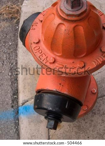 fire hydrant - stock photo