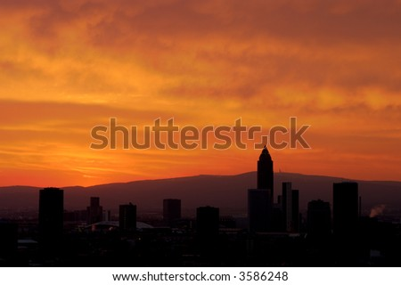 Fire in the Sky, Frankfurt, Germany